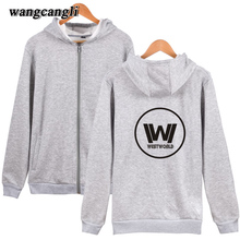 2017 Westworld Printing Design Hoodies Women Clothes And Hot Sale West World Harajuku Zipper Hoodie Men Sweatshirt Plus Size 4xl
