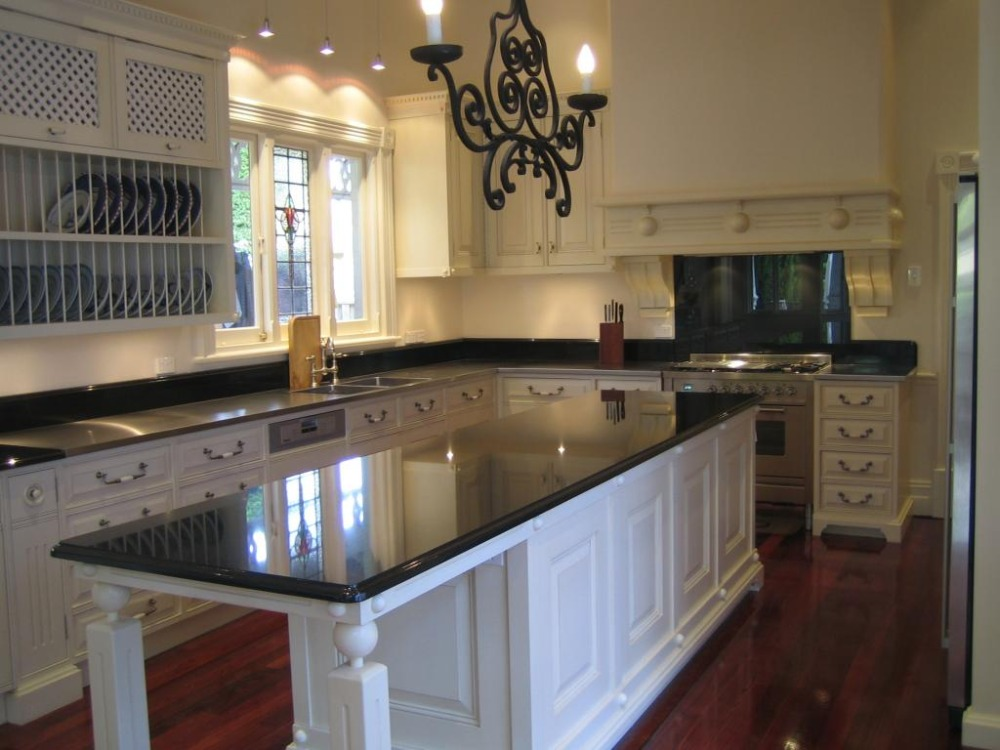 € 3227.35 |Muebles de madera de cocina americana con estante de secado para  platos-in Armarios de cocina from Mejoras para el hogar on Aliexpress.com  ...