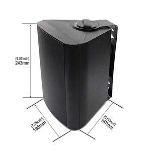 Image 5 - 5.25 speakers oradores marinhos exteriores de bluetooth do pátio interno de 200 watts com baixo poderoso todo o sistema da montagem da parede do tempo