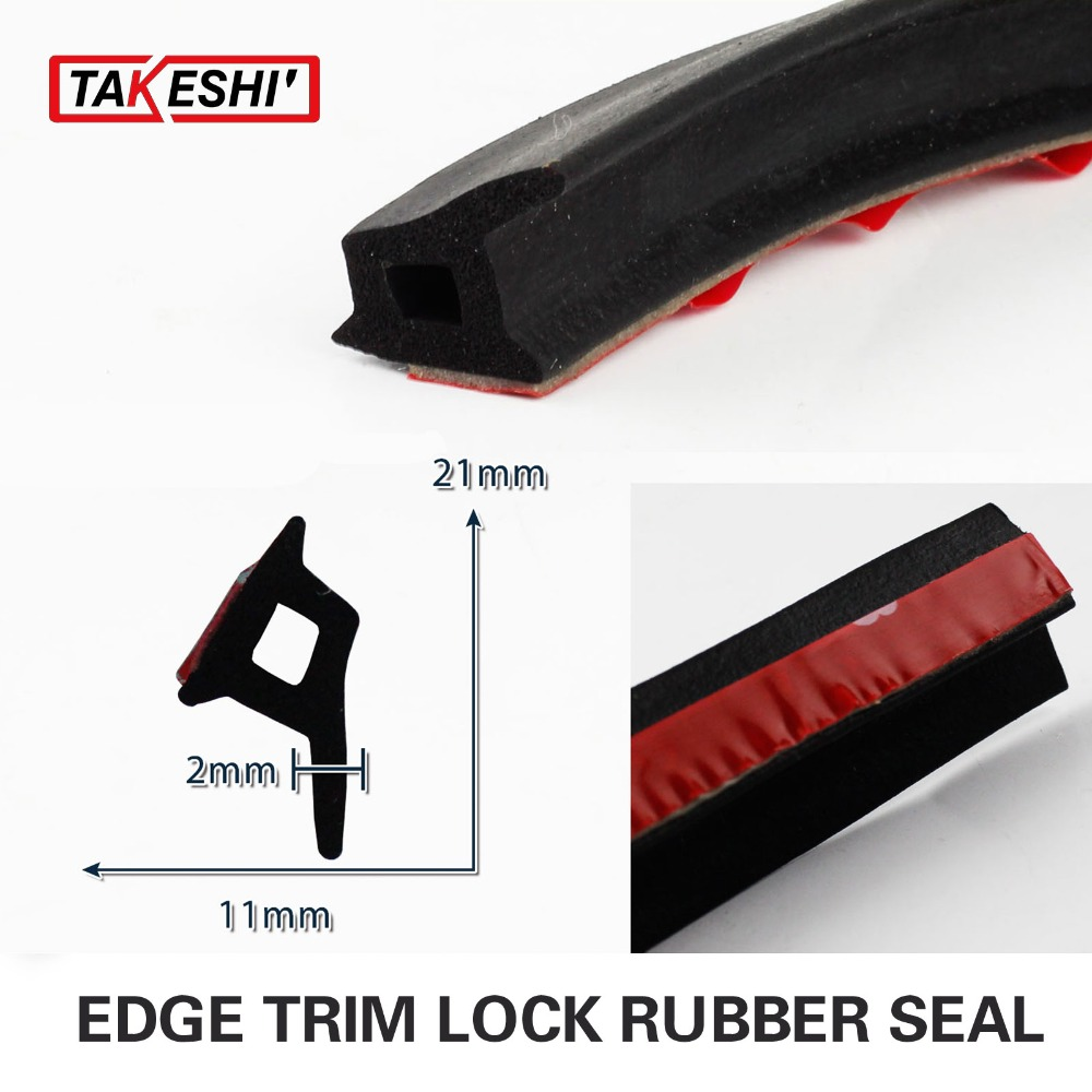 79 200CM P Shape Pillar PVC BLACK durable Edge Trim Seal Strip Silencer Lock font b