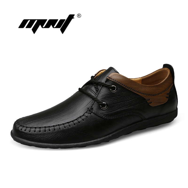 Handmade genuine leather men flats shoes,Soft leather shoes men ,Plus size leather shoes men casual shoes top brand high quality genuine leather casual men shoes cow suede comfortable loafers soft breathable shoes men flats warm