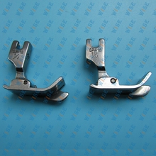 Industrial Sewing Machine Hinged Presser Foot With Right Guide (2 PCS) # SP-18 important: choose you wanted size