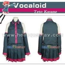 Vocaloid Teto Kasane Cosplay Costume Premade Standard Size H