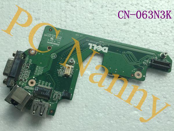 Genuine FOR Dell Latitude E5420 VGA / USB / RJ-45 IO Circuit Board 63N3K CN-063N3K