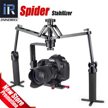 Handheld Spider Stabilizer Mechanical Video 6D 5D Mark III IV DSLR 카메라 캠코더 영화 제작을위한 Steadicam 리그킹 꾸준한 캠
