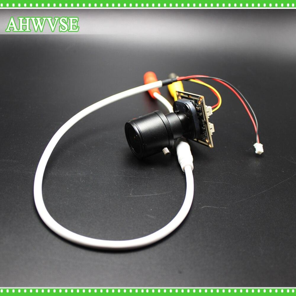 AHWVSE AHDH Camera Module Board 2.8-12mm Lens CMOS IR Cut Filter 1080P Ultra Low Illumination Security Camera For AHD