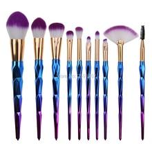 2017 New 10 PCS Makeup Brushes Set Cosmetics Tools Eyeshadow Eye Face Make up Brush Kit Blush Soft Brush oval face eye makeup brush black high quality soft bristles multi purpose 5 pcs set new sale fashion
