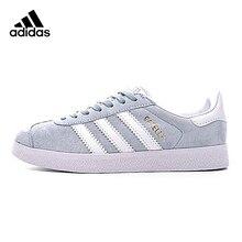 finest selection cf477 c262e Adidas Originals Gazelle trébol zapatos para caminar de las mujeres, azul  claro, antideslizante Wearable transpirable ligero BB5.