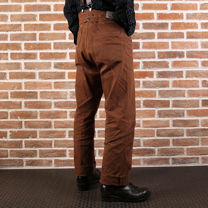 877 Duck Bronson 11oz Canvas Pants Mens Unwashed Vintage Duck Canvas Jean