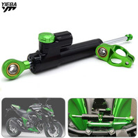 z800 For KAWASAKI Z800 Z 800 2003 2018 Motorcycle Accessories Steering Stabilizer Damper Complete With Mounting Bracket Kit