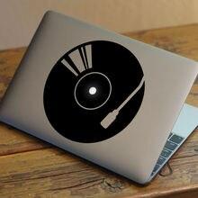 "DJ Jukebox винил творчество ноутбука наклейка для Apple MacBook 11 ""12"" 13 ""15"" Air Pro Retina компьютер Mac кожи HP Тетрадь Стикеры"