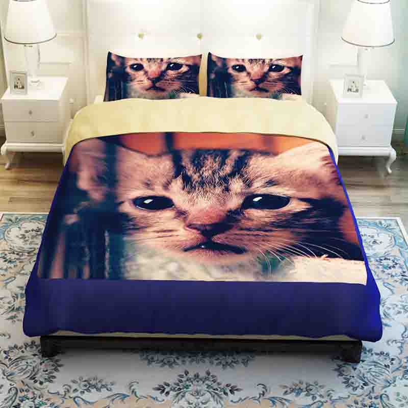 Your Zone Reversible Princess Puppy Kitten Bedding Comforter Set Twin