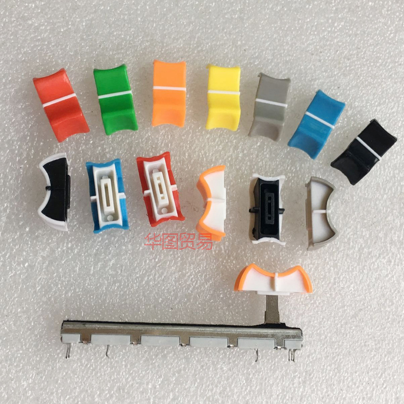 5Pcs Adjustable Turn 24Mm 6Mm Shaft Insert Dia Potentiometer Rotary Knobs ho