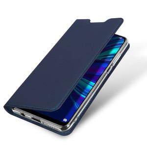 Image 4 - DUX DUCIS Flip funda para Huawei P Smart Plus 2019 libro billetera de cuero para Huawei P inteligente + (2019)/P Smart Z PSmart Coque