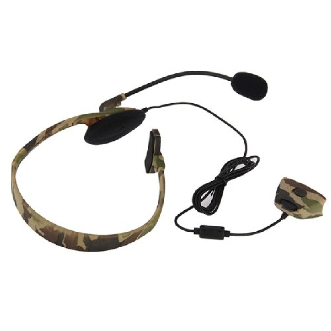 Marsnaska Gaming Headset Headphone Camouflage Earphone Headsets with two Microphone mic  ...