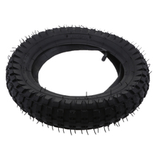 цена на 1 Pcs 12.5x2.75 Rubber Gas & Electric Scooter Tire Inner Tube Straight Valve Set For Razor MX350 MX400 Black Tread Groove Design