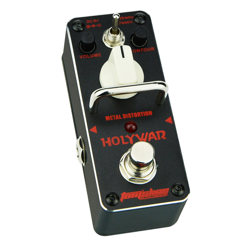 Tomsline AHOR-3 HOLY WAR Metal distortion Mini Analogue Effect True Bypass AROMA new aroma ahor 3 holy war metal distortion mini analogue effect true bypass