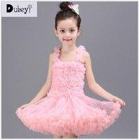 Girl tutu dress Elegant dress for ballet girls children luxury splicing tutu dress kids party ball gown vetement enfant fille