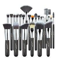 Professional High Quality Soft Taklon Her Makeup Artist Brush Premium 24 Pcs Makeup Brushes Set Tool