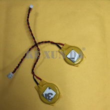 2PCS CR2032 3V Button battery wire interface 10CM 1.25 Plug 2PIN Removable 2032 battery with wire(China)