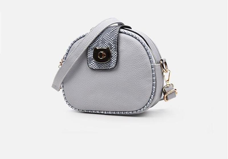 9 grey women handbag