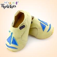 TipsieToes/Высококачественная детская обувь с цветочным рисунком на мягкой подошве; мокасины для девочек; обувь для малышей; Новинка года; сезон осень-весна; 63341