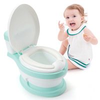 New Baby Infant Potty Seat Simulation Children Bedpan Portable Toilet Training Urinal Kids Potties Ergonomic Backrest Pot Design