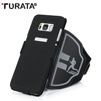 TURATA Sport Running Arm Band Telefoon Case Voor Samsung Galaxy S8/S8 Plus Telefoon Case voor Samsung S8 S8 +