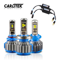 Carlitek 2 PCS H4 LED H7 H11 HB3 HB4 35W 7000LM 6000K White Light Auto Car