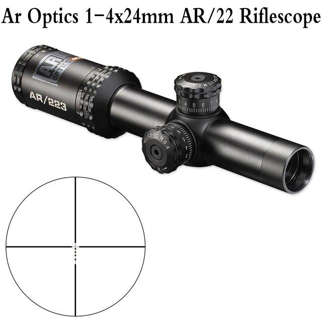 tactical ar optics 1 4x24 mm 223 5 56 riflescope drop zone bdc