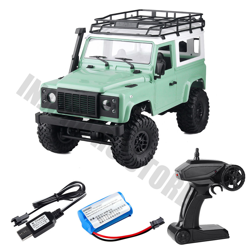 2.4G 4*4 Wheel MN 90 MN 91 1/12 Scale RC Car Remote Control Truck Toys MN Model RTR Version D90 Defender Pickup Car