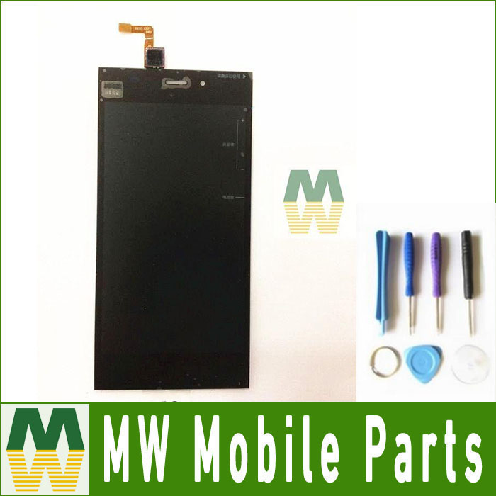 1PC / Lot High Quality For <font><b>Xiaomi</b></font> 3 <font><b>Mi3</b></font> LCD <font><b>Display</b></font> + Touch Screen Digitizer +Tools Replacement Part image
