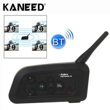 V4-1200 1200 м Bluetooth Interphone Гарнитуры для Шлема Мотоцикла Максимальная Поддержка Четырех всадниками Системой Bluetooth