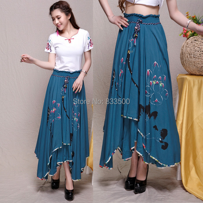 High Waisted Maxi Skirt Pattern - Skirts