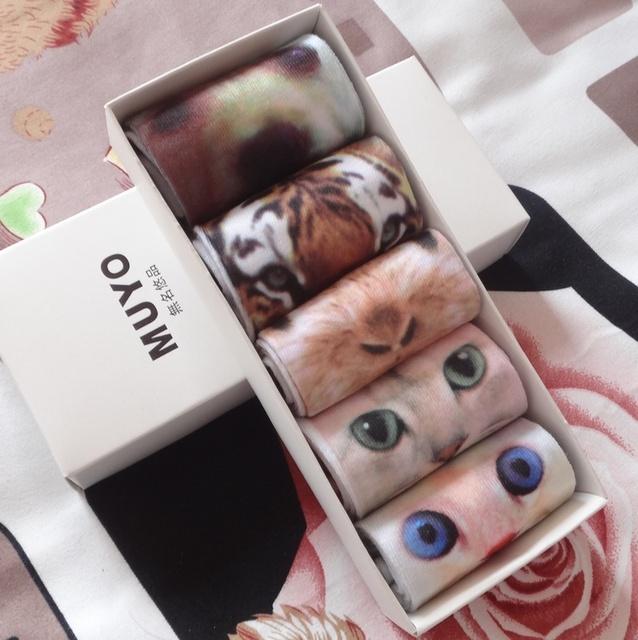 3D impressão harajuku topshop algodão meias animais meias de presente presente de aniversário tipo pode escolher ou aleatória envio