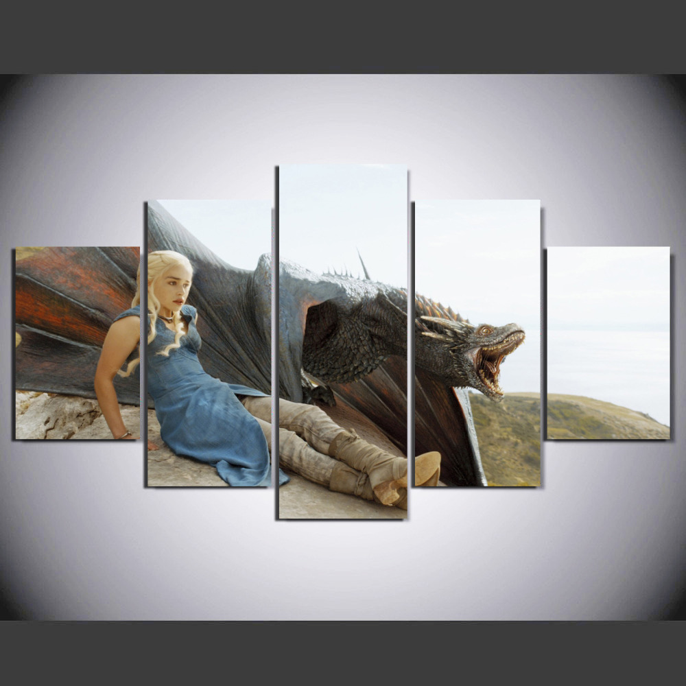 Game Of Thrones Home Decor Wall Art Picture