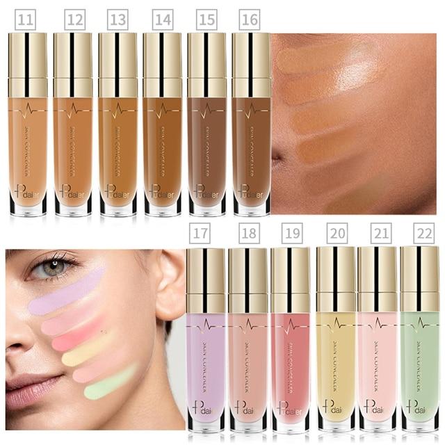 Pudaier 1PC 21Colors Concealer Liquid Rewind Beauty Face Make up Eye Dark Circles Primer Eraser Corrector Foundation Base 4