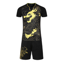 Chinese Elements Soccer Jerseys Sets Survetement Football Kits Sports Futbol Table Tennis Badminton Training Sweatshirt Suit