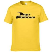Мода хлопок футболка Для мужчин Форсаж человек Форсаж летняя футболка Повседневное короткий рукав с Футболки для девочек#237