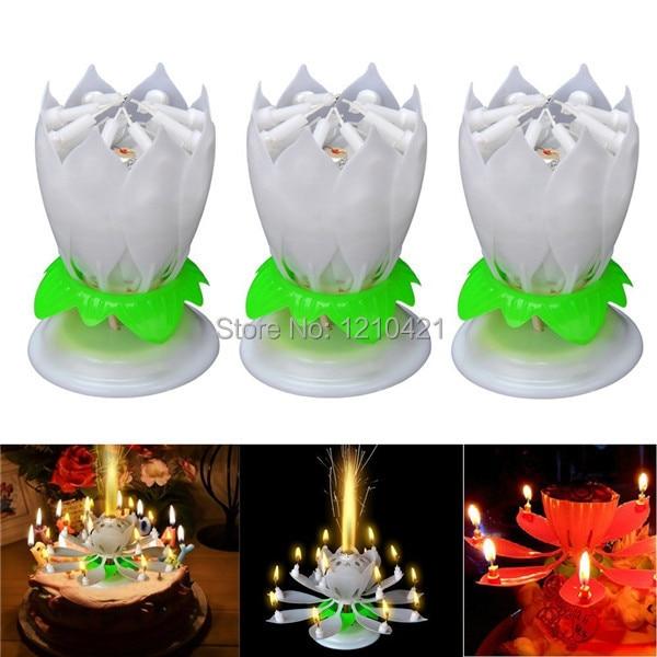Тегін жеткізу 3Pcs / Set Музыкалық Lotus Flower - Үйдің декоры - фото 2