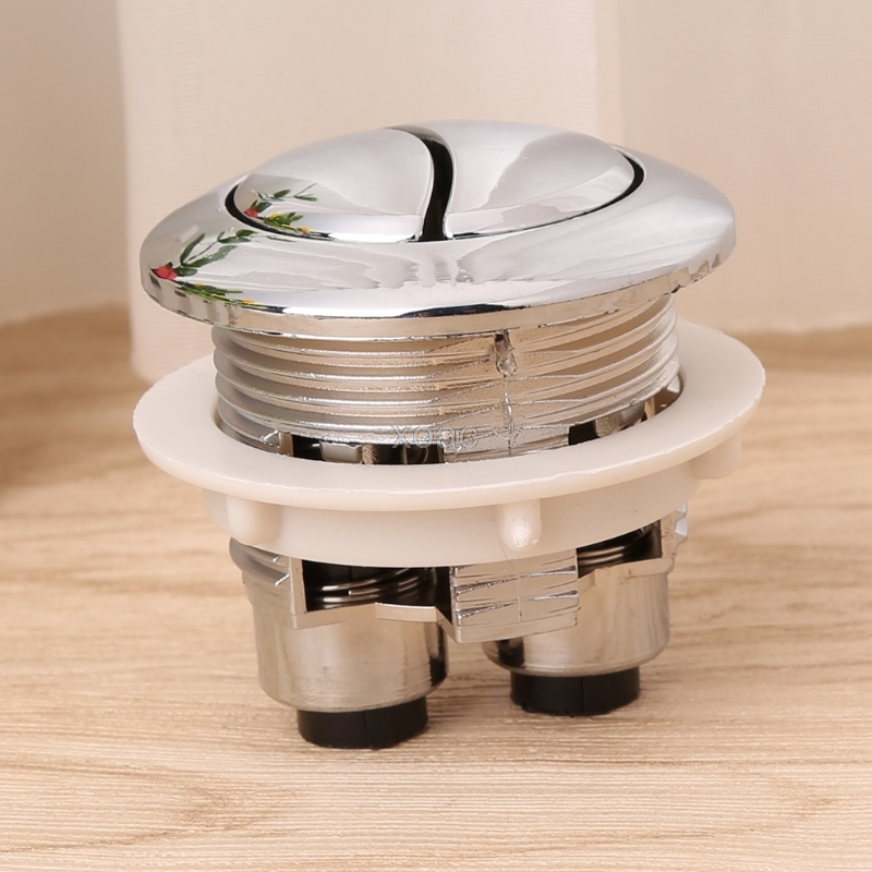 Dual Flush Toilet Tank Button Closestool Bathroom Accessories Water Saving Valve   M13 dropship 3