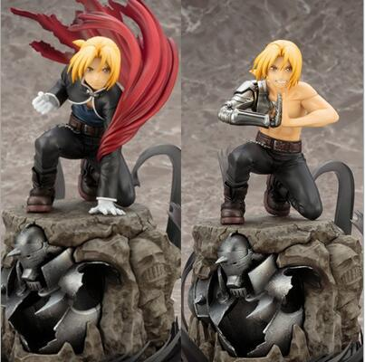22cm Fullmetal Alchemist Edward Elric Action Figure PVC toys Collection figures for friends gifts without retail box
