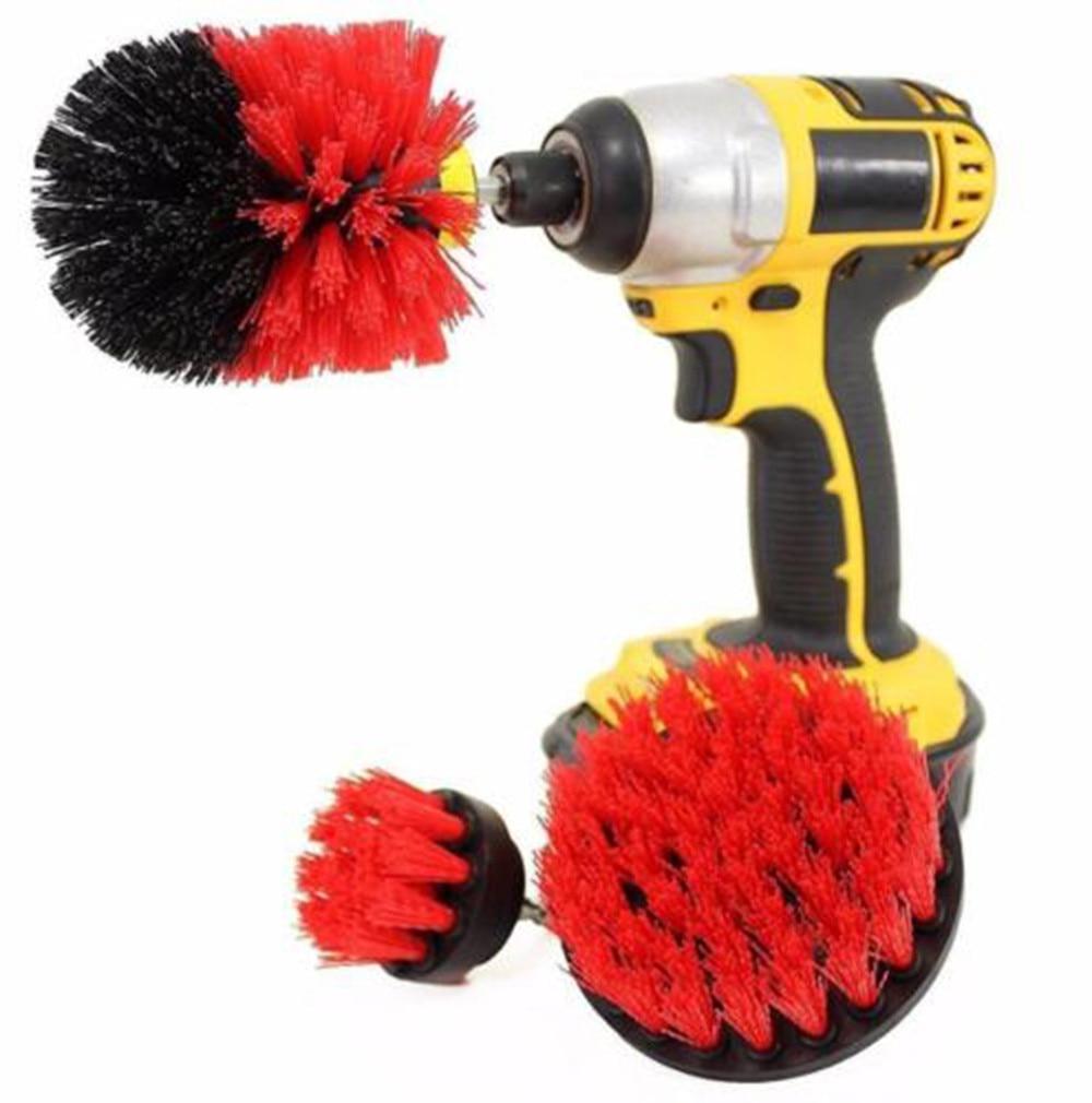 1pc Sponge Grout Power Scrubber Cleaning Brush Tub Cleaner Combo Tool Kit 3pcs Drill Brush Kit Sponge <font><b>Sheds</b></font> & Storage