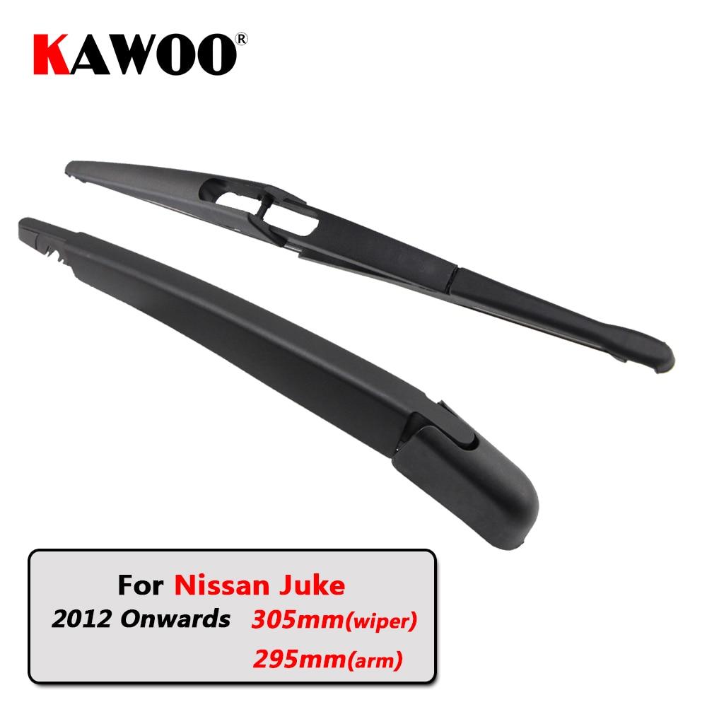 KAWOO Car Rear Wiper Blade Blades Back Window Wipers Arm For Nissan Juke Hatchback (2012 Onwards) 305mm Auto Windscreen Blade