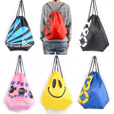 Waterproof Swimming Backpack Double Layer Drawstring Sport Bag Gym Bag Sports Travel Portable Bag Surfing Bags Covers 12 Colors