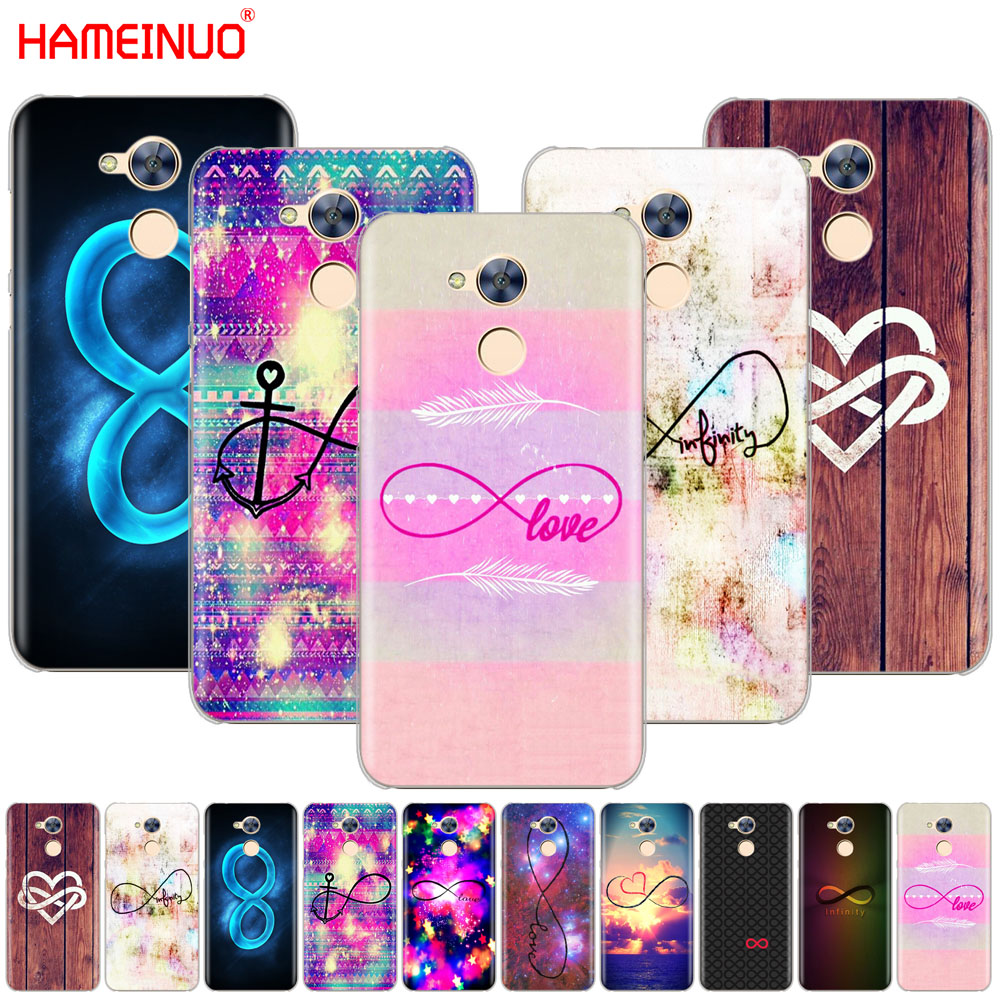 Hameinuo Infinity Symbol Mathematical Large Love Nebula Cover Phone