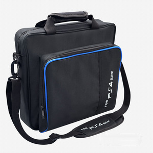 Image 3 - สำหรับ PS4 / PS4 Pro Slim เกมระบบ Original ขนาดสำหรับ PlayStation 4 คอนโซลป้องกันไหล่กระเป๋าถือกระเป๋าถือกรณีผ้าใบ