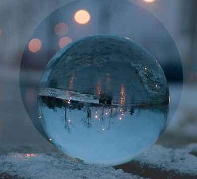 חם ברור קריסטל קסם כדור אסיה טבעי קוורץ צלול ריפוי המצוטט כדור Sphere 40mm