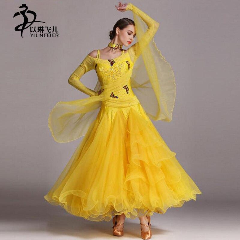 ᑎ‰Dress For Ballroom Dancing /Women Ballroom Waltz Competition ...