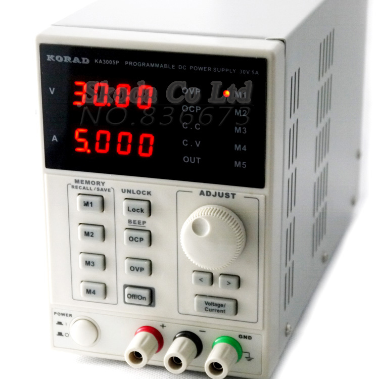 KORAD 3005P Programmable DC power supply 30V 5A High precision Adjustable Digital power supply for Mobile phone testing reapair kuaiqu high precision adjustable digital dc power supply 60v 5a for for mobile phone repair laboratory equipment maintenance